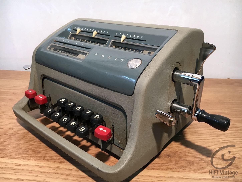 FACIT GMBH calculatrice mécanique C1-13 Hifi vintage réparations
