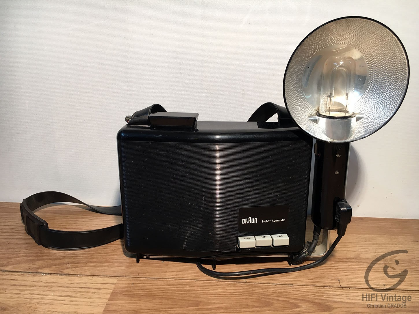 BRAUN Hobby flash photo Hifi vintage réparations