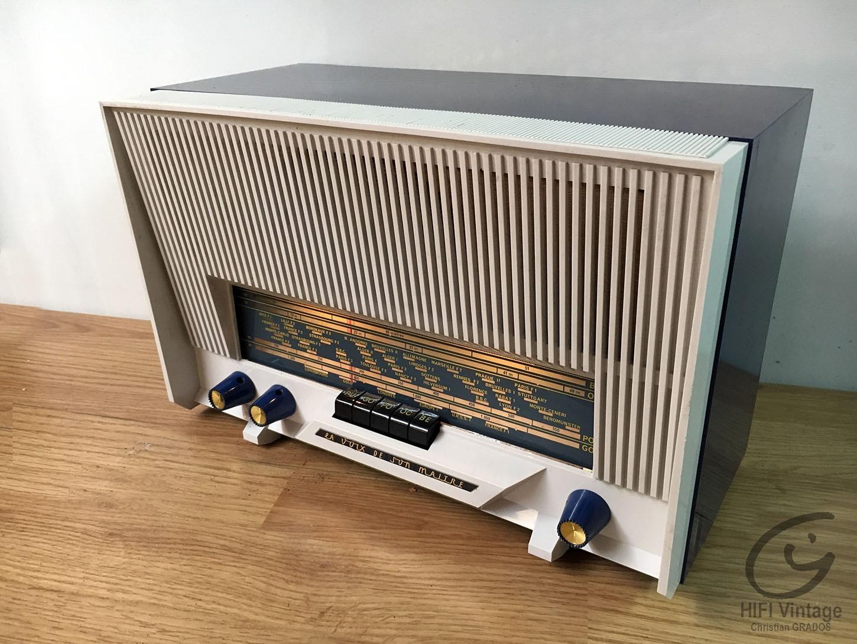 LA VOIE DE SON MAITRE Type 500 bleu Hifi vintage réparations