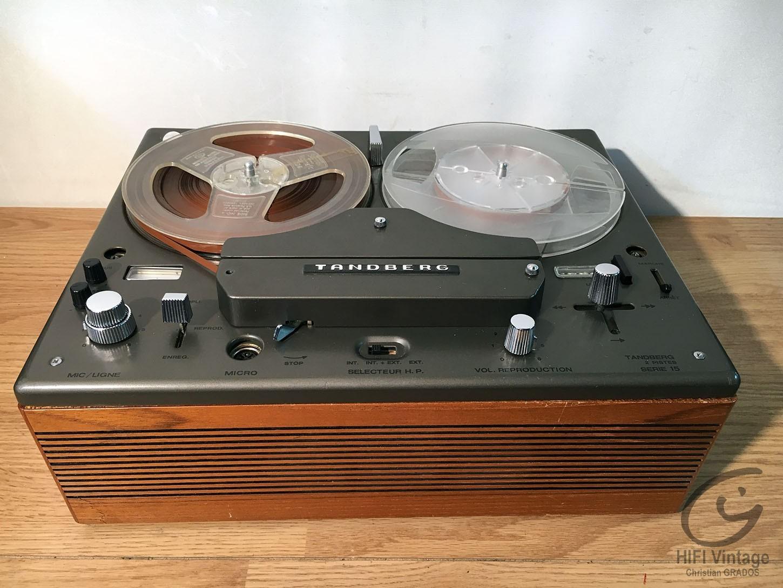 TANDBERG Serie 15 Hifi vintage réparations