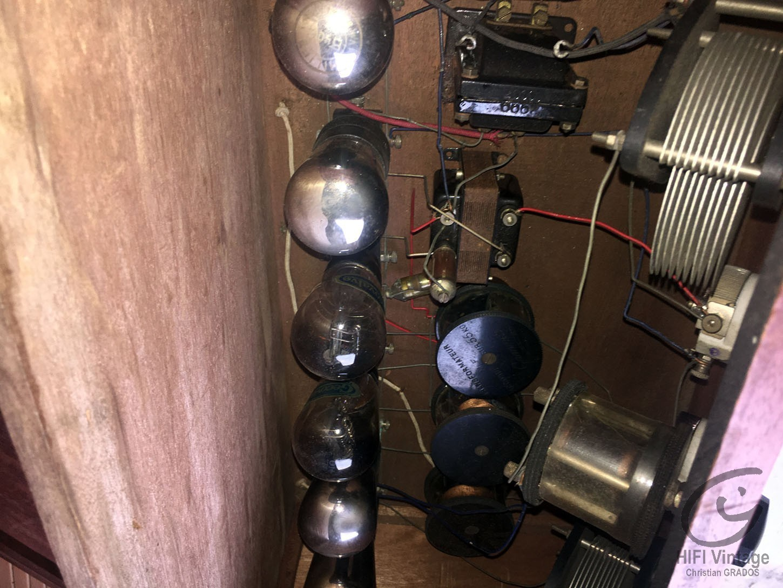 Poste Batterie 6 lampes 1930