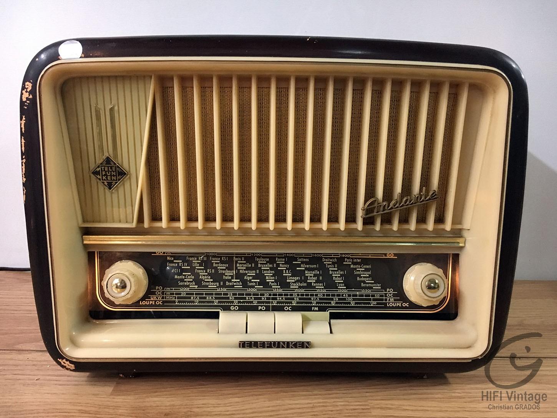 TELEFUNKEN Adante 63 Hifi vintage réparations