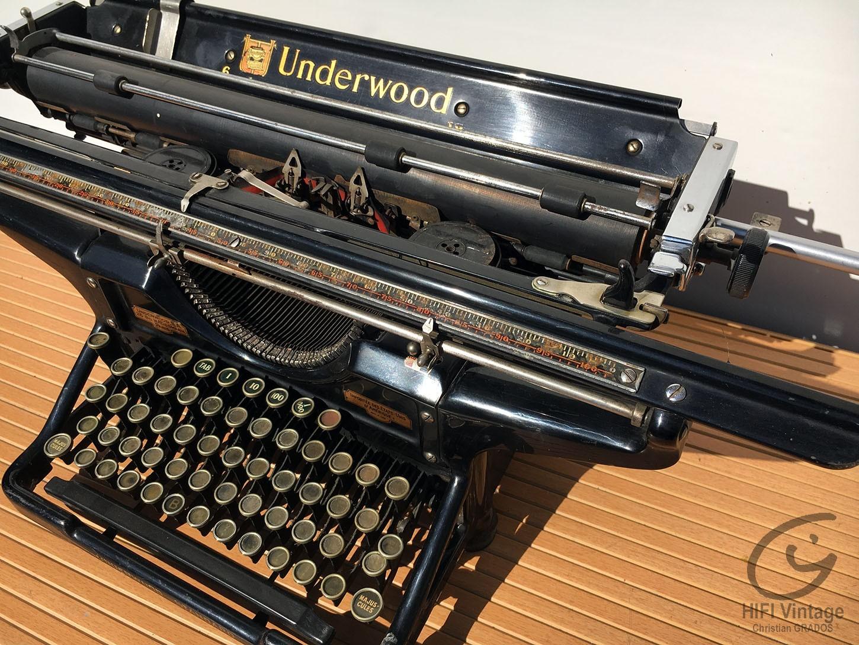 UNDERWOOD Standard A3 Hifi vintage réparations