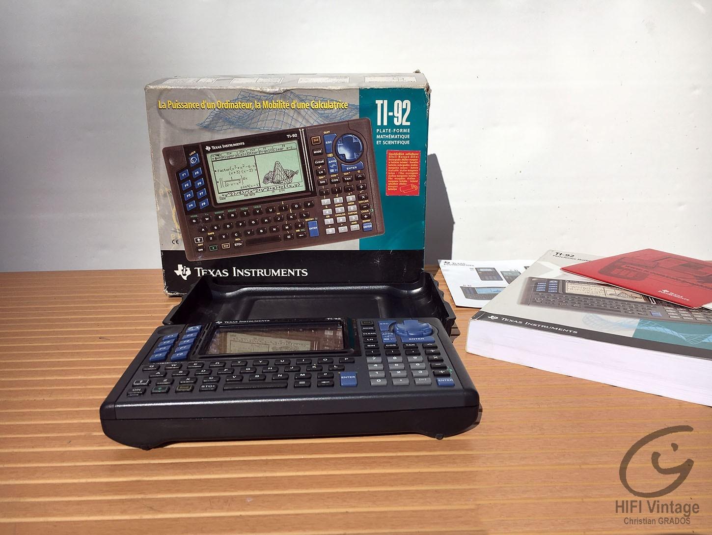 TEXAS Instrument TI-92 Hifi vintage réparations