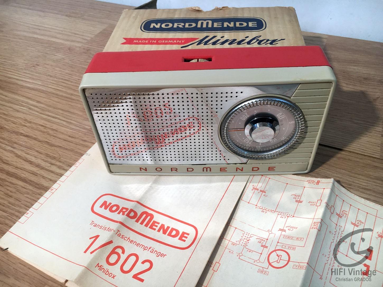 NORMENDE Minivox Hifi vintage réparations