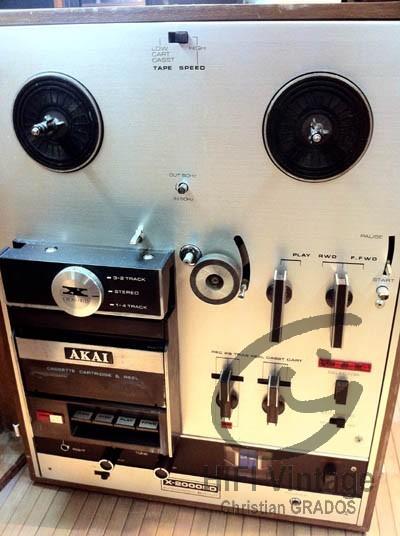 AKAI X-2000SD Hifi vintage réparations