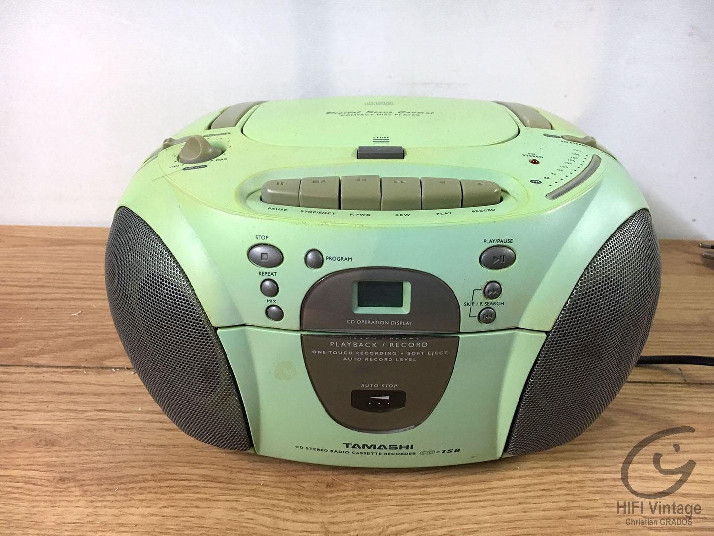 TAMASHI CD-158 Hifi vintage réparations