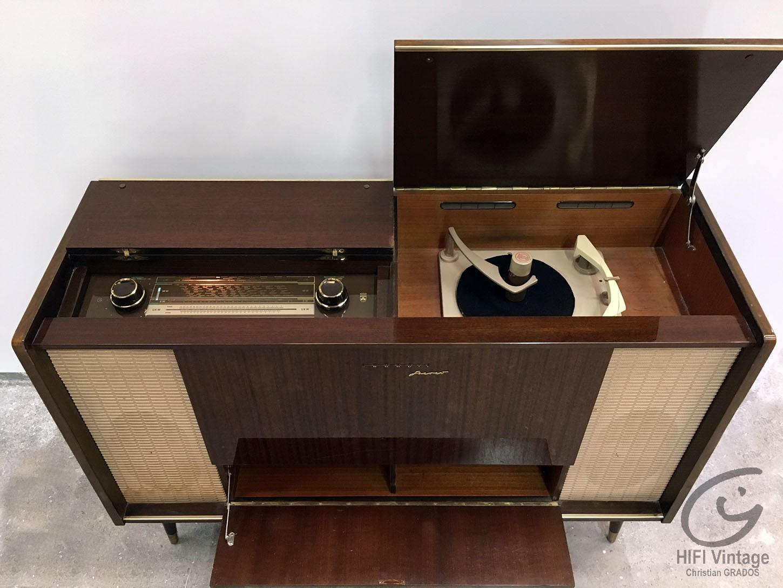GRUNDIG Stereo KonZertsChrank SO-240 Hifi vintage réparations