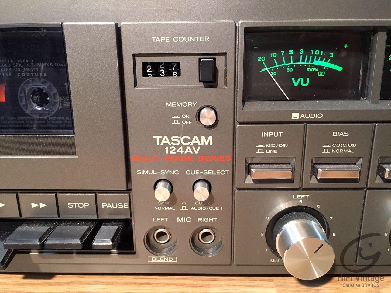 TASCAM 124-AV