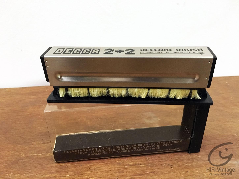 DECCA 2+2 Record Brush Hifi vintage réparations