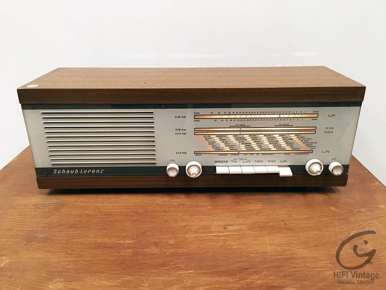 SCHAUB LORENZ 231641 Hifi vintage réparations