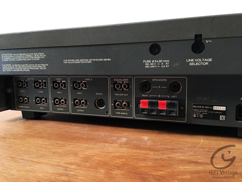 REVOX B-750 MKII