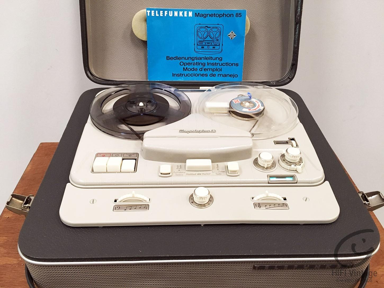 TELEFUNKEN Magnetophon 85 Hifi vintage réparations