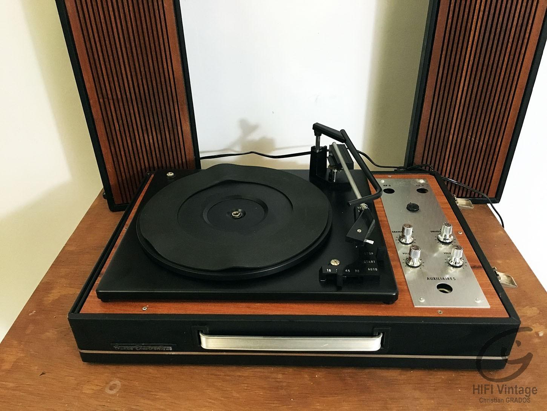 FRANCE ELECTRONIQUE electrophone stéréo Hifi vintage réparations