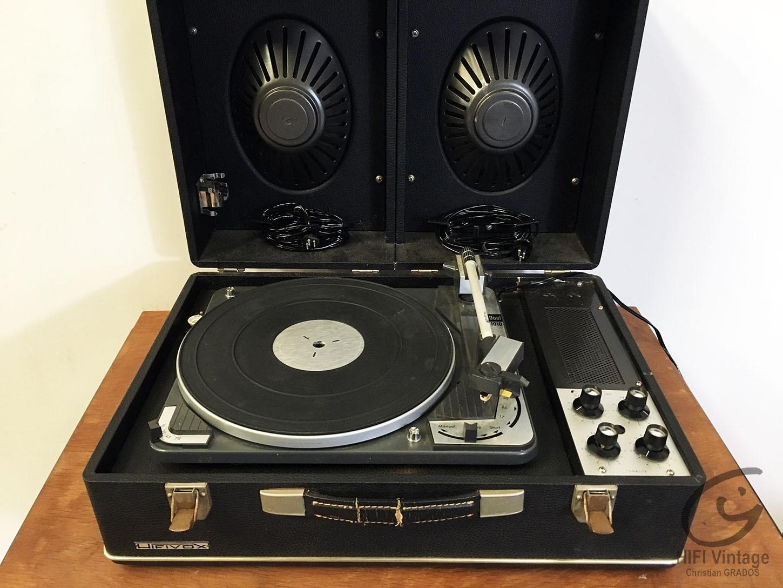 HIFIVOX electrophone stéréo Hifi vintage réparations