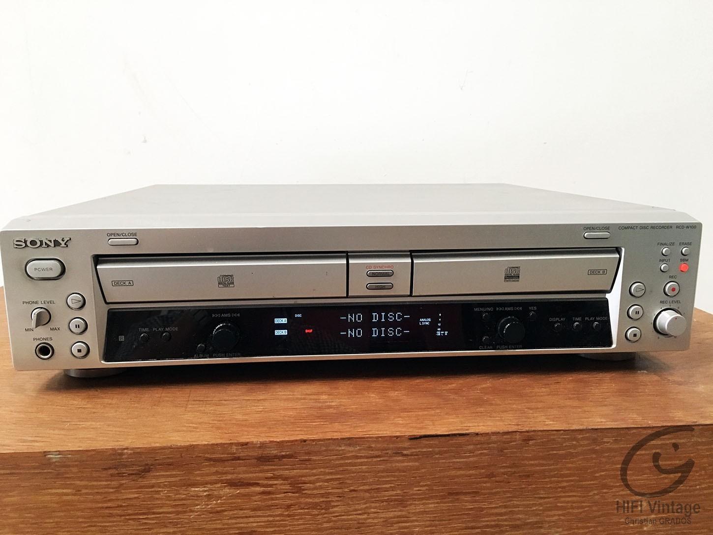 SONY RCD-W100 Hifi vintage réparations