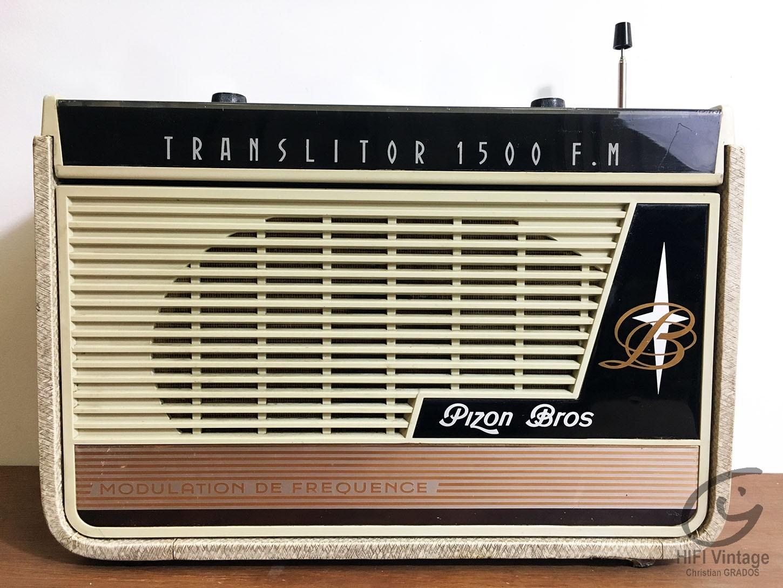 PIZON BROSS Translitor 1500-FM