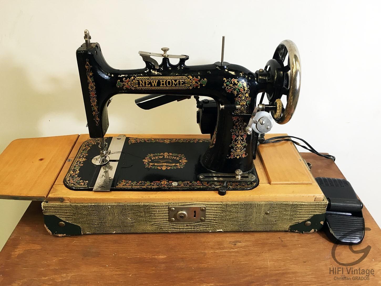 NEW HOME M 1900 Hifi vintage réparations