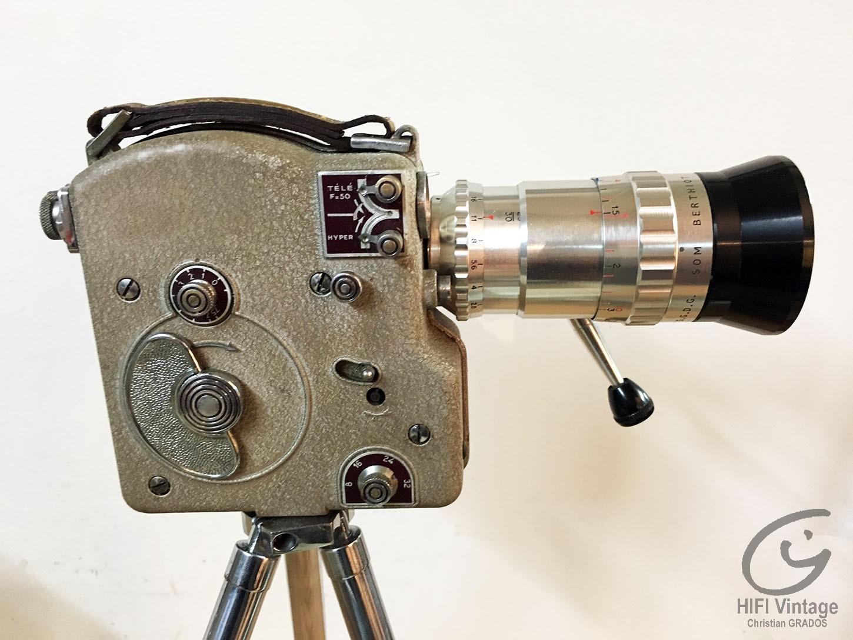 ERCSAM CAMEX 8mm Non Reflex Hifi vintage réparations