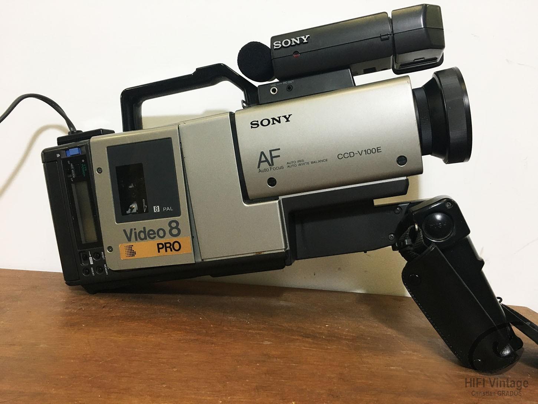 SONY CCD V-8-AFE Hifi vintage réparations
