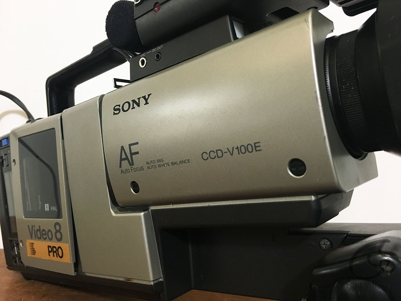 SONY CCD V-8-AFE