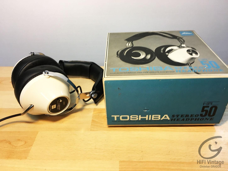 TOSHIBA HR-50 Headphone HIFI Hifi vintage réparations