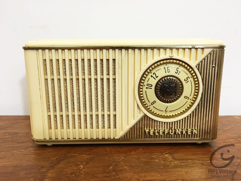 TELEFUNKEN Partner IIK Hifi vintage réparations