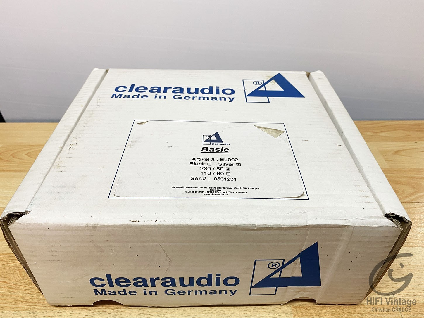 CLEARAUDIO Basic Preampli