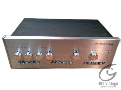 Audiotec PR-1000 preamplificateur Hifi vintage réparations