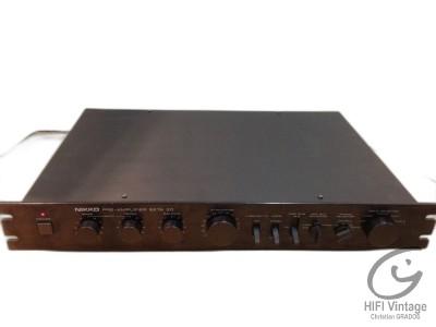 Niko Beta-20 Préamplificateur Hifi vintage Réparations