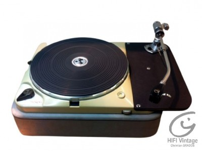 Thorens TD-124 MK-I avec Bras SME 3012 serie 1  PLatine tourne disque Hifi vintage réparations