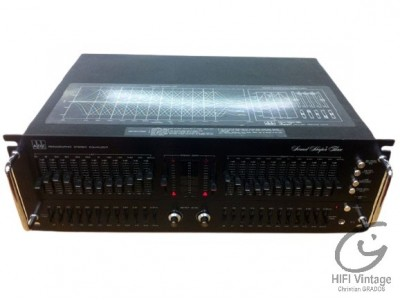 ADC Sound Shaper Three Equaliseur Hifi vintage Réparations