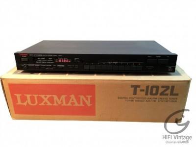 Luxman T-102 L tuner hifi vintage réparations