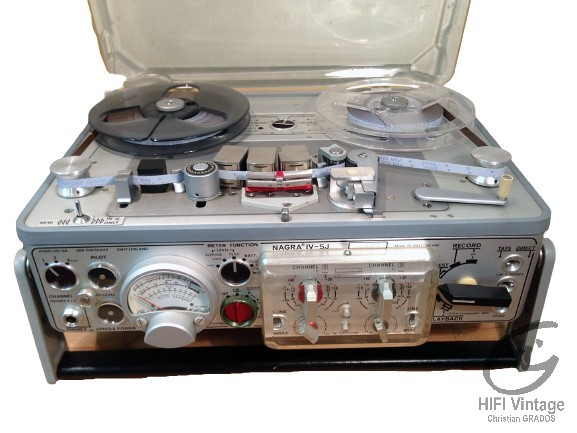 NAGRA IV SJ Hifi vintage réparations