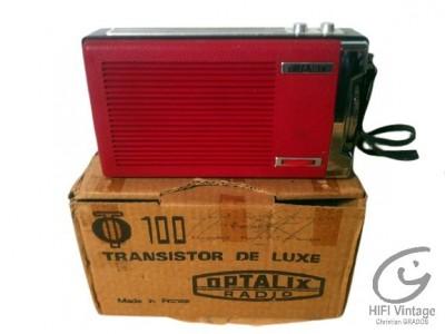 Optalix T100 Radio Hifi vintage réparations