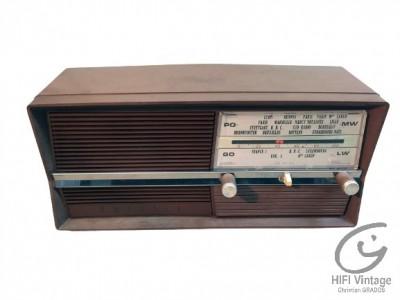 Hifi Vintage OPTALIX PO GO Plastique Maron
