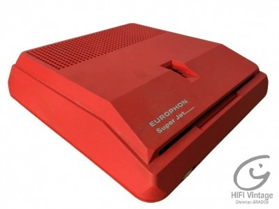 Hifi Vintage EUROPHON Super Jet Mange disque 45t