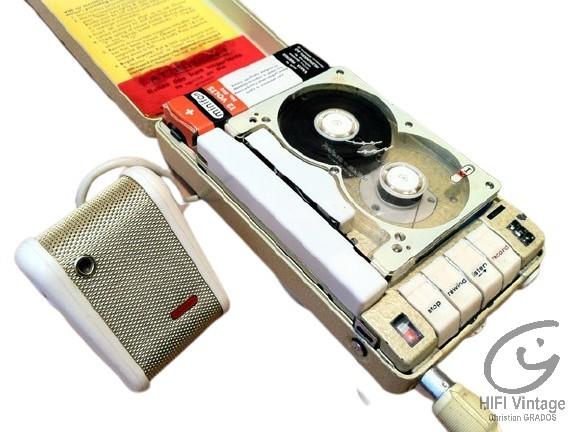 Minifon Attaché Hifi vintage réparations