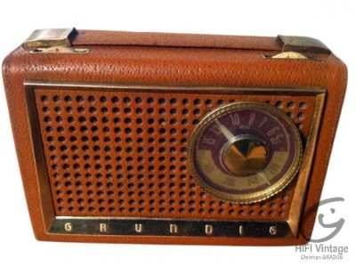 Grundig Boy-59 radio hifi vintage réparations