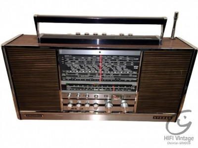 Hifi Vintage GRUNDIG Concert Boy 4000 bois