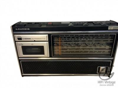 Hifi Vintage GRUNDIG C-6000 Automatic