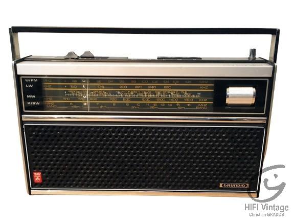 GRUNDIG City Boy 1100 Hifi vintage réparations