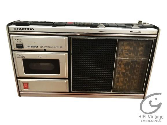 GRUNDIG C4500 Hifi vintage réparations