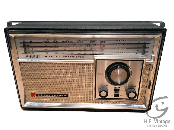 NATIONAL PANASONIC R-441-B Hifi vintage réparations
