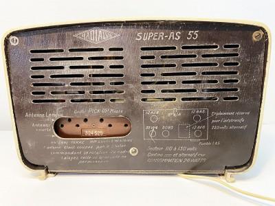 RADIALVA-Super-AS-55 Hifi vintage réparations