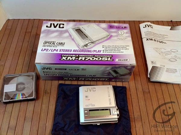 JVC XM-R700SL Hifi vintage réparations