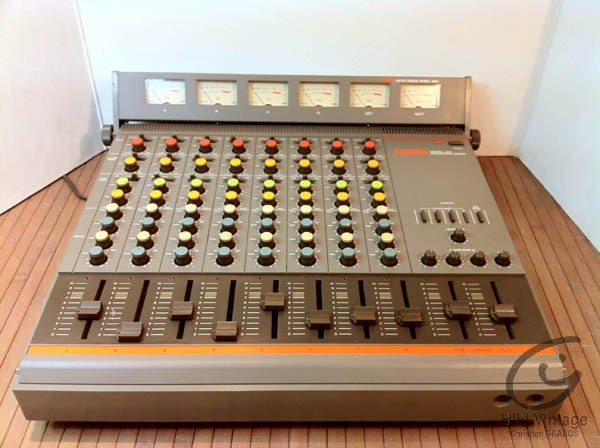 FOSTEX Model 350 Recording mixer et model 3060 meter bridge Hifi vintage réparations