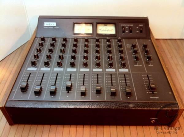 INKEL MX-991 table de mixage 8 voies Hifi vintage réparations