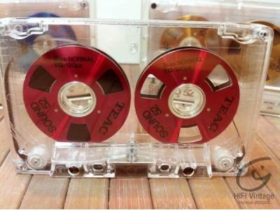 TEAC 52 cassette bande métal