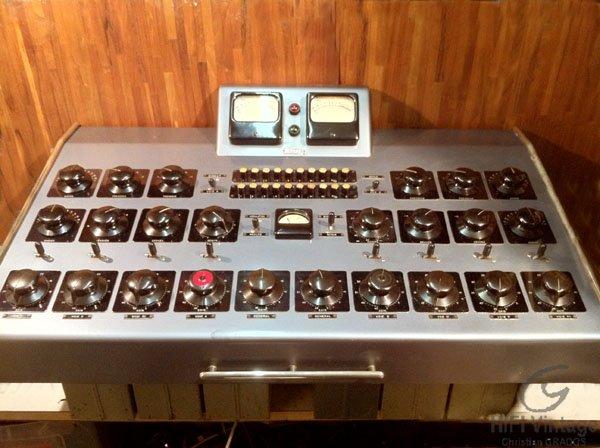 GIRARDIN Console de mixage Hifi vintage réparations